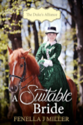 Cover image for Fenella Miller's A Suitable Bride