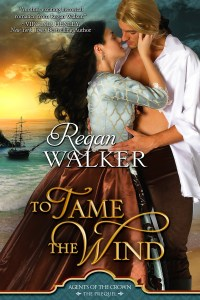 Cover image for TO TAME THE WIND by Regan Walker