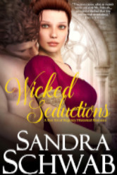 Cover image for WICKED SEDUCTIONS by Sandra Schwab