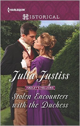 Cover image for STOLEN ENCOUNTERS WITH THE DUCHESS by Julia Justiss