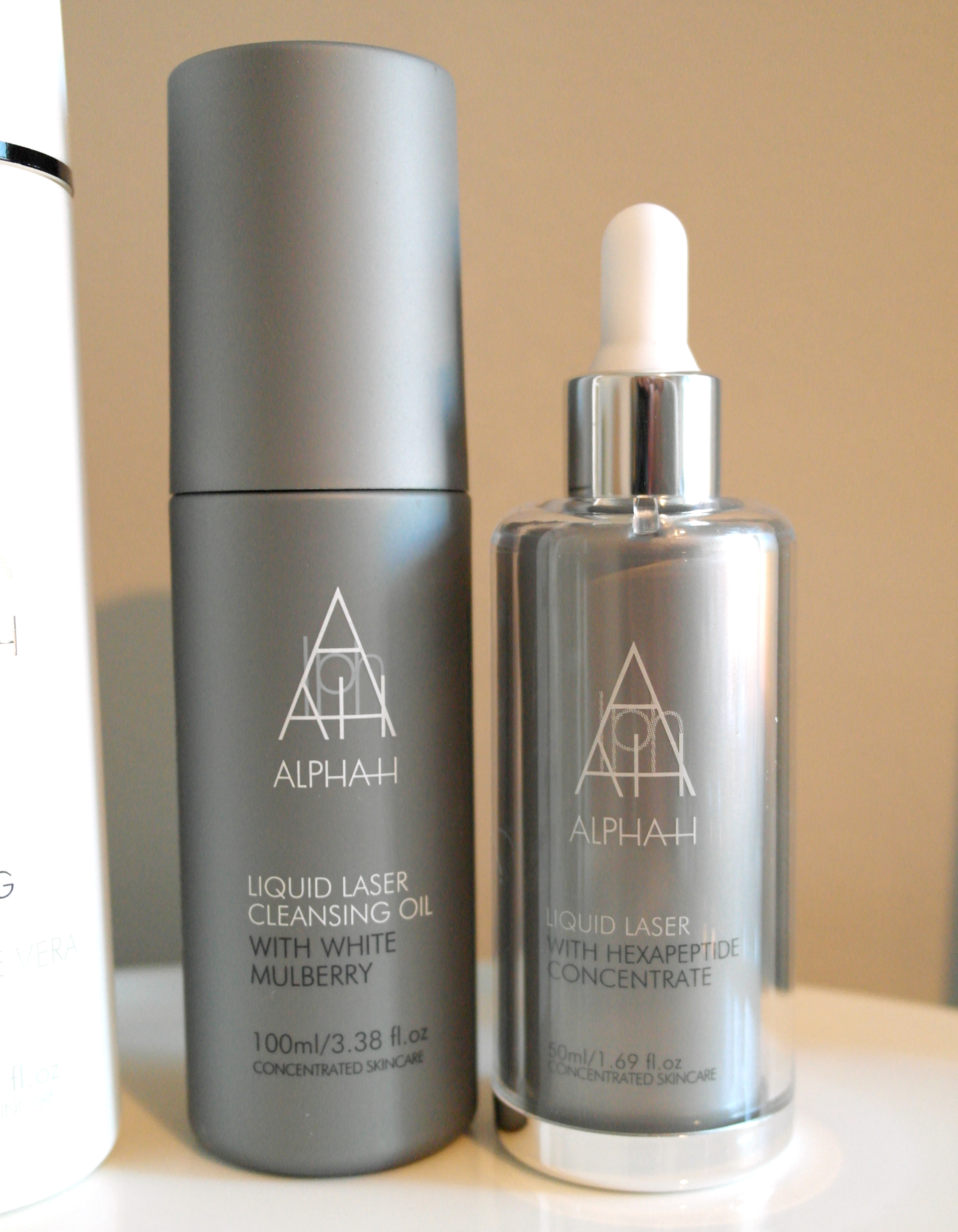 Alpha H Liquid Laser Cleansing Oil & Liquid Laser Serum