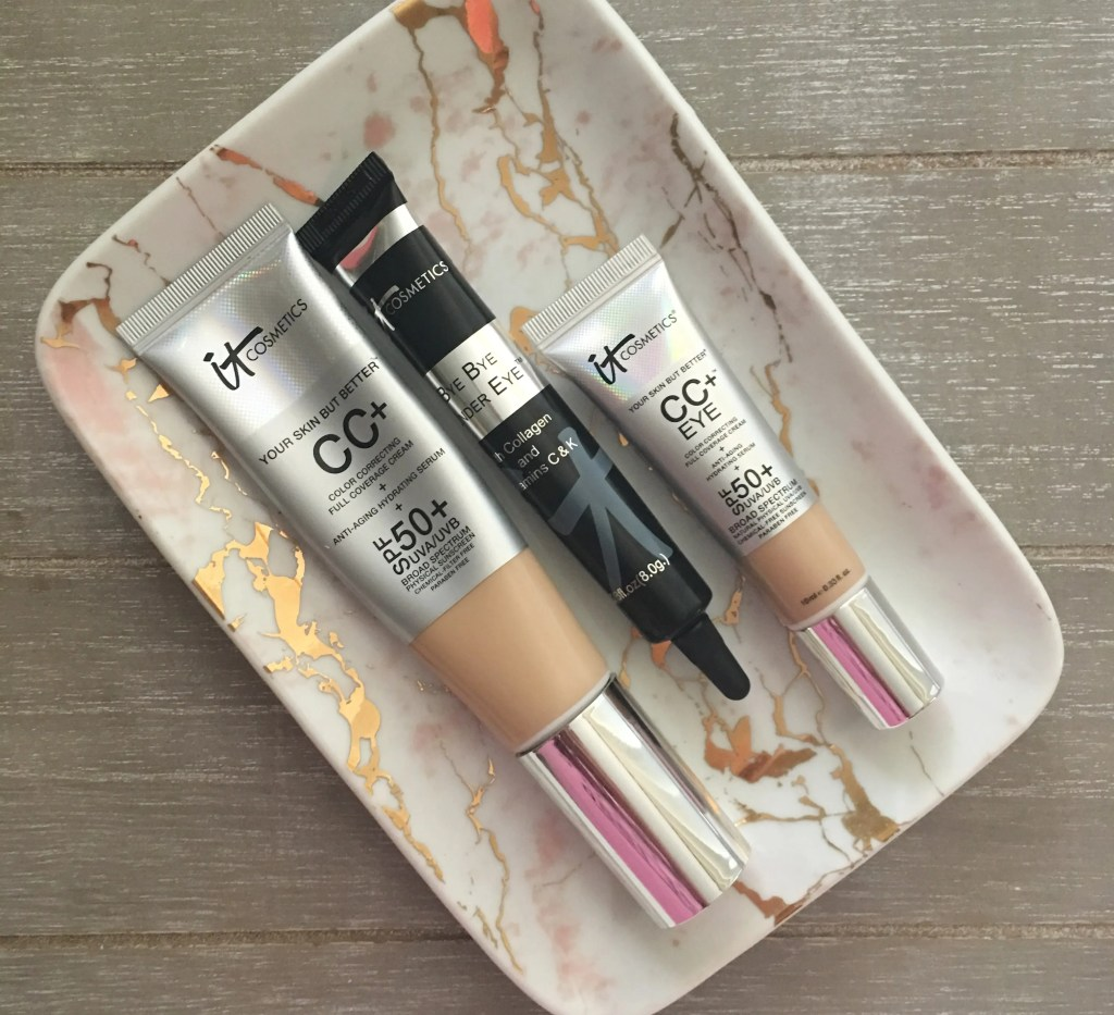 FOTD and It Cosmetics Review – CC Cream, Bye Bye Under Eye and CC Eye