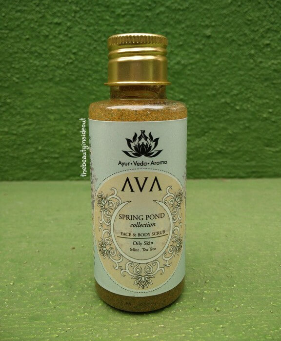 AVA Face & Body Scrub Spring Pond Collection Review