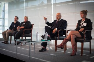 Photo from CropLife America's 2014 Policy Conference with Jesse Hirsch, Dee Dee Darden, Ali Velshi and myself.