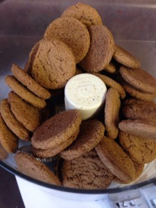Ginger snaps are better as a crust anyway.