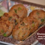 Kheema Tikkis made in appe pan