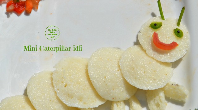 Mini caterpillar idli