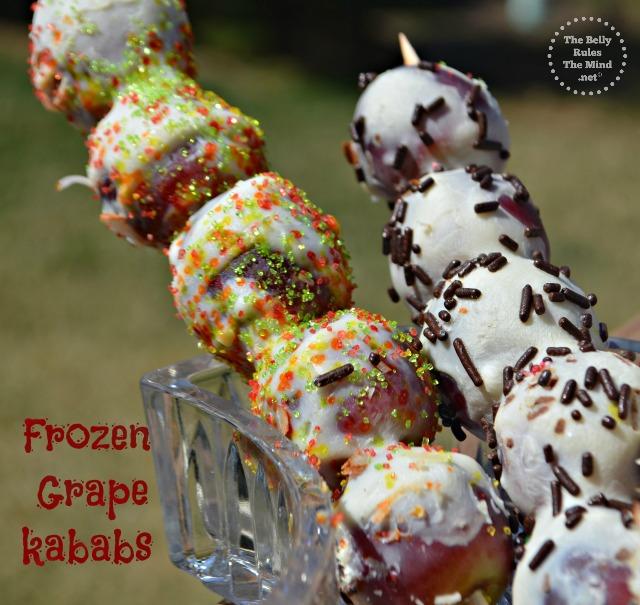 frozen Grape kababs