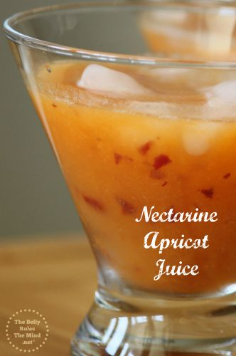 Nectarine Apricot Juice