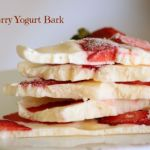 Strawberry Yogurt Bark