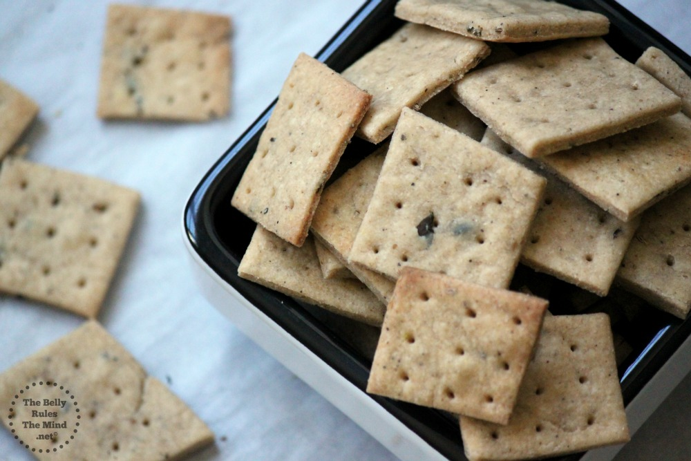baked wheat thins