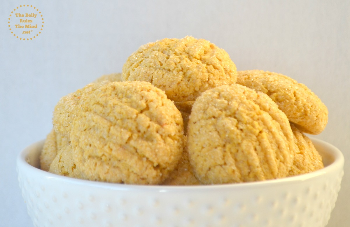 Whole Wheat Custard Cookies