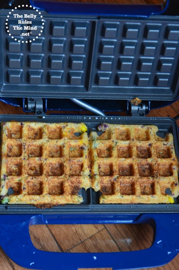 semolina waffles