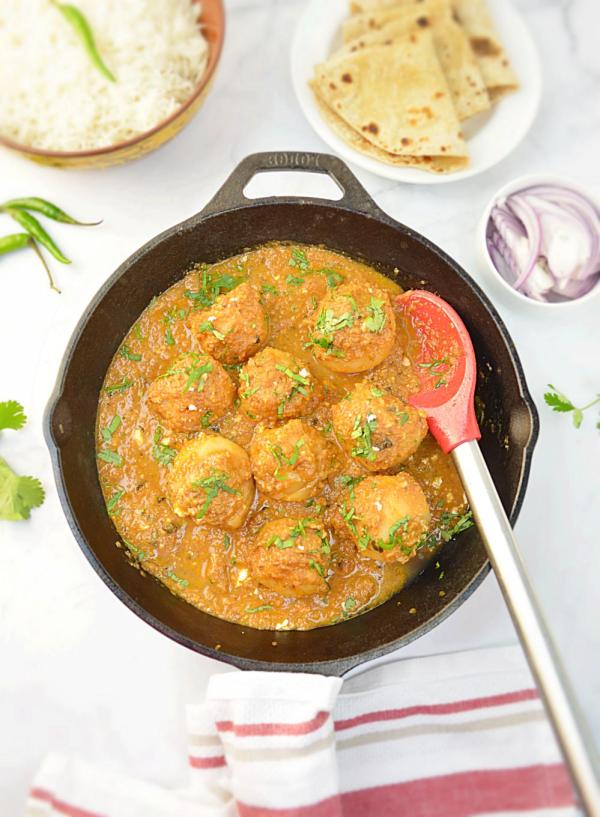 Stuffed Potato Curry