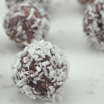 Creamy Cranberry Coconut Energy Bites