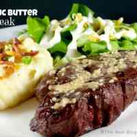 Grilled Garlic Butter Steak
