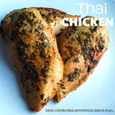 Thai Chicken from {The Best Blog Recipes}