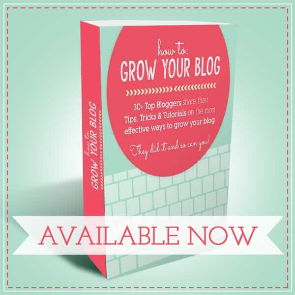 How To Grow Your Blog ebook from thebestblogrecipes.com