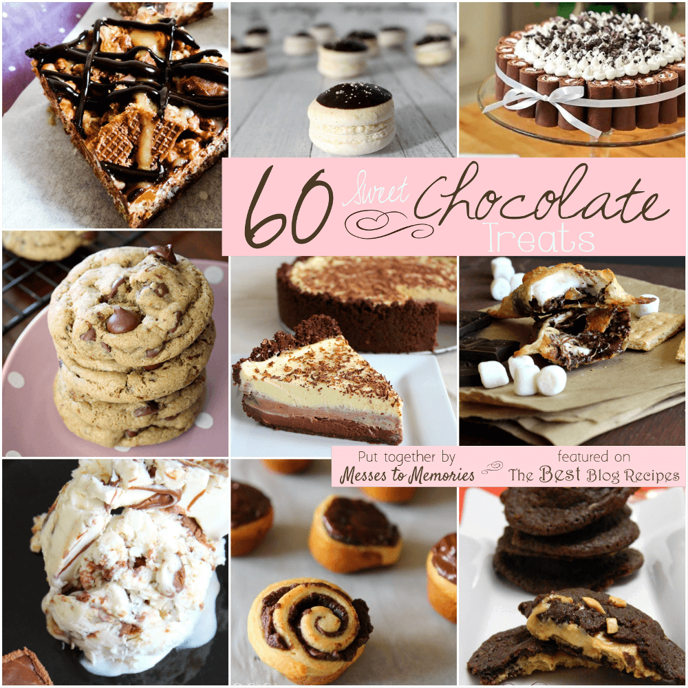 60 Sweet Chocolate Treats from The Best Blog Recipes!