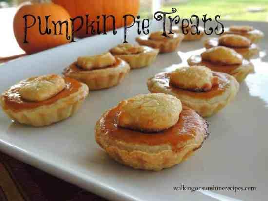 Mini Pumpkin Pies 4 promo