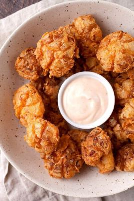 Bite Sized Blooming Onions