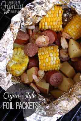Cajun Style Grill Foil Packets