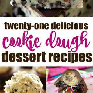 21 Delicious Cookie Dough Dessert Recipes