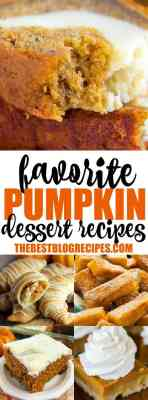 Favorite Pumpkin Dessert Recipes - blogs de Recipes