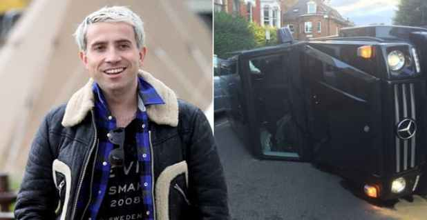 Nick Grimshaw was involved in a car accident on Monday (Picture: Getty/Jimmy Higgs)