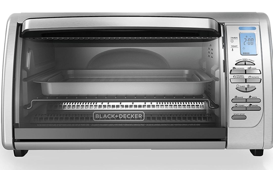 Black Decker CTO6335S Countertop Convection Toaster Oven