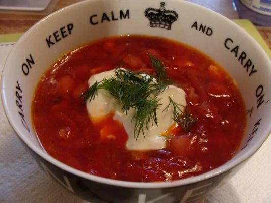 the original russian borshdt recipe