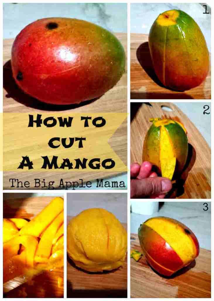 how to slice a mango