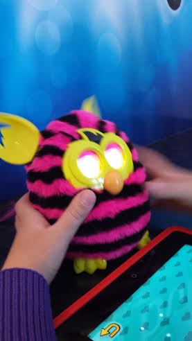 Battery powered furby