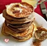 3 ingredient no-carb pancakes