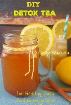 DIY Detox tea for Healthy body and glowing skin