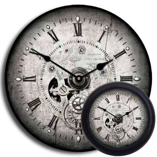 Medium Crop Of Steampunk Wall Clock