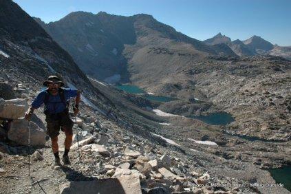 Hiking to Glen Pass, Kings Canyon N.P., High Sierra