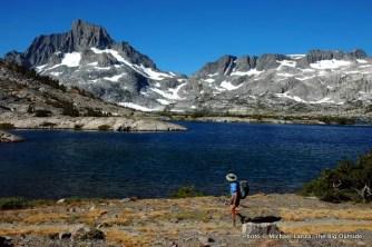 Banner Peak, Thousand Island Lake, John Muir Trail, Ansel Adams Wilderness.