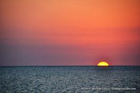 Sunset at Tiger Key, Ten Thousand Islands.