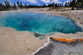 Black Pool, West Thumb Geyser Basin