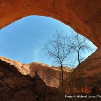 Jacob Hamblin Arch, Coyote Gulch, Grand Staircase-Escalante National Monument, Utah.