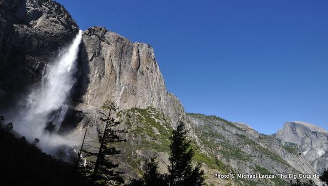 Upper Yosemite Falls, Yosemite Valley.