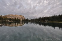 Rock Slide Lake, Sawtooth Mountains, Idaho.