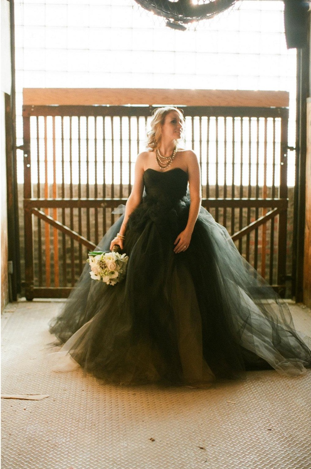 intimate kansas wedding black wedding dress black wedding dress