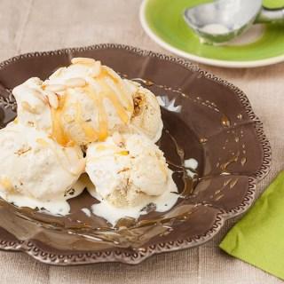 gelato cannella miele e pinoli