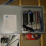 Custom motorization power panel