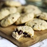 Chocolate Orange Mascarpone Cookies