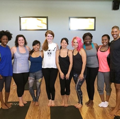 hot yoga at core power yoga