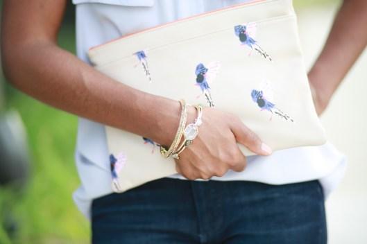 clutch, bracelets, gold, jewelry, deux lux, neutral accessories