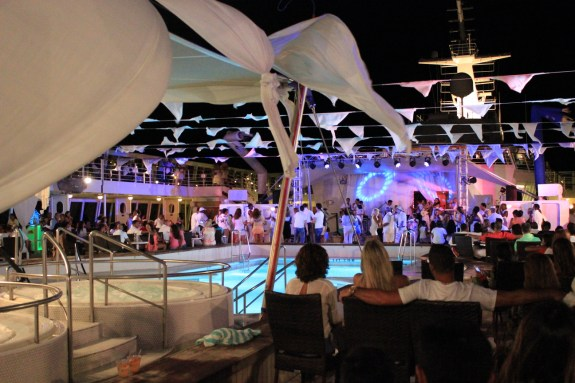 white party, norwegian cruise, norweigan sky, norwegian cruise party